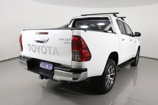 2020 Toyota Hilux GUN126R MY19 Upgrade SR5 (4x4) White 6 Speed Manual Double Cab Pick Up