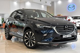 2021 Mazda CX-3 DK4W7A Akari SKYACTIV-Drive i-ACTIV AWD Blue 6 Speed Sports Automatic Wagon.