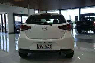 2021 Mazda 2 DJ2HAA G15 SKYACTIV-Drive Pure White 6 Speed Sports Automatic Hatchback