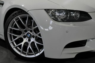 2008 BMW M3 E92 M-DCT White 7 Speed Sports Automatic Dual Clutch Coupe.