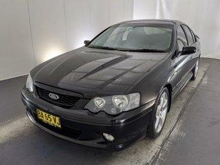 2005 Ford Falcon BA Mk II XR8 Black 4 Speed Sports Automatic Sedan.