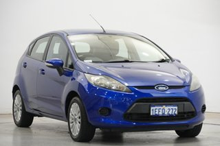 2012 Ford Fiesta WT CL PwrShift Blue 6 Speed Sports Automatic Dual Clutch Hatchback