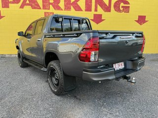 2016 Toyota Hilux GUN126R SR Double Cab Charcoal 6 Speed Manual Utility