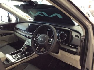 2020 Kia Carnival KA4 MY21 SLi Ceramic Silver 8 Speed Sports Automatic Wagon.