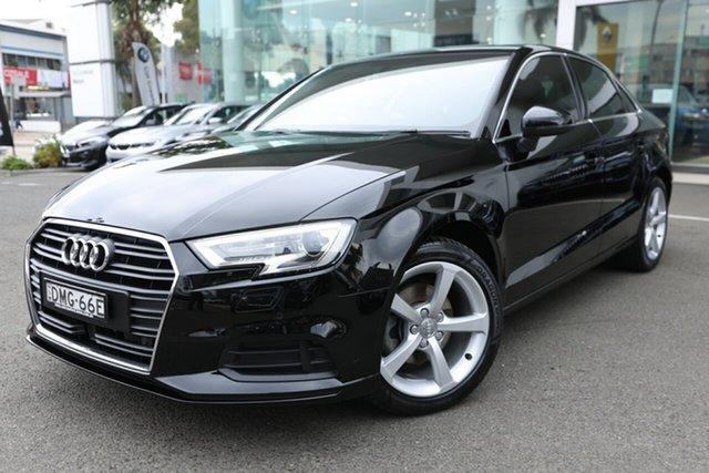 Used Audi A3 8V MY16 1.4 TFSI Attraction CoD Brookvale, 2016 Audi A3 8V MY16 1.4 TFSI Attraction CoD Brilliant Black 7 Speed Auto Direct Shift Sedan