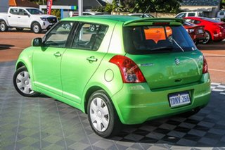 2010 Suzuki Swift RS415 Green 5 Speed Manual Hatchback.