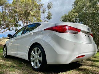 2011 Hyundai Elantra MD Premium Creamy White 6 Speed Sports Automatic Sedan.