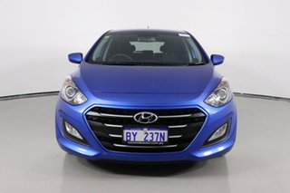 2016 Hyundai i30 GD4 Series 2 Active Blue 6 Speed Automatic Hatchback.