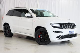 2013 Jeep Grand Cherokee WK MY2014 SRT White 8 Speed Sports Automatic Wagon.