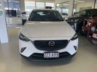 2018 Mazda CX-3 DK MY17.5 Maxx (FWD) White 6 Speed Automatic Wagon.