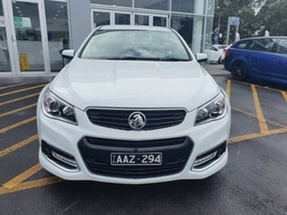 2014 Holden Ute VF MY14 SV6 Ute Storm White 6 Speed Manual Utility.