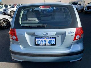 2005 Hyundai Getz TB MY05 GL Blue 4 Speed Automatic Hatchback.