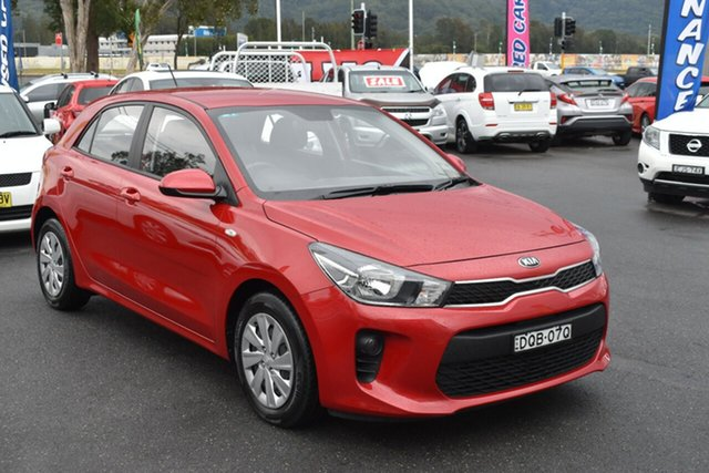 Used Kia Rio YB MY17 S Gosford, 2017 Kia Rio YB MY17 S Red 4 Speed Sports Automatic Hatchback