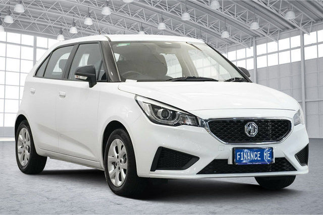 Used MG MG3 SZP1 MY20 Core Victoria Park, 2020 MG MG3 SZP1 MY20 Core Dover White 4 Speed Automatic Hatchback