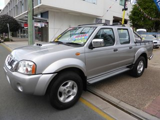 2008 Nissan Navara D22 ST-R (4x4) Silver 5 Speed Manual Dual Cab Pick-up.