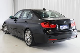 2015 BMW 3 Series F30 MY1114 320d M Sport Black 8 Speed Sports Automatic Sedan.