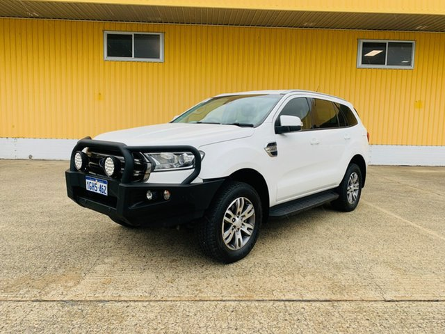 Used Ford Everest UA Trend Canning Vale, 2017 Ford Everest UA Trend White 6 Speed Sports Automatic SUV