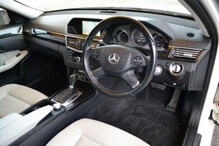 2010 Mercedes-Benz E-Class W212 E250 CDI BlueEFFICIENCY Avantgarde White 5 Speed Sports Automatic.