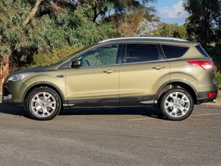 2014 Ford Kuga TF Trend PwrShift AWD Ginger Ale 6 Speed Sports Automatic Dual Clutch Wagon