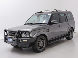2016 Land Rover Discovery LC MY16.5 Graphite Corris Grey 8 Speed Automatic Wagon.