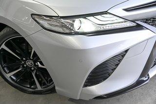 2018 Toyota Camry GSV70R SX Silver 8 Speed Sports Automatic Sedan.
