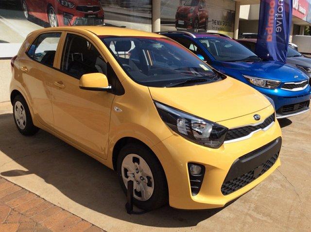 New Kia Picanto JA MY21 S Toowoomba, 2021 Kia Picanto JA MY21 S Honey Bee Yellow 4 Speed Automatic Hatchback