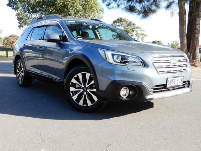 Used Subaru Outback B6A MY16 2.5i CVT AWD Premium Glenelg, 2015 Subaru Outback B6A MY16 2.5i CVT AWD Premium Platinum Grey 6 Speed Constant Variable Wagon