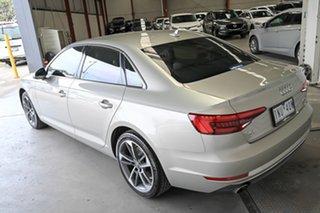 2017 Audi A4 B9 8W MY17 Sport S Tronic Quattro Silver 7 Speed Sports Automatic Dual Clutch Sedan