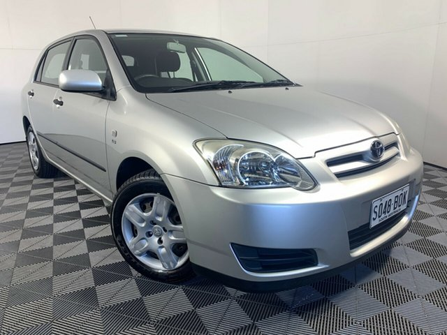 Used Toyota Corolla ZZE122R 5Y Ascent Sport Wayville, 2006 Toyota Corolla ZZE122R 5Y Ascent Sport Silver 4 Speed Automatic Hatchback
