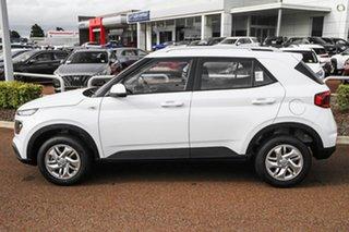2021 Hyundai Venue QX.V3 MY21 White 6 Speed Automatic Wagon