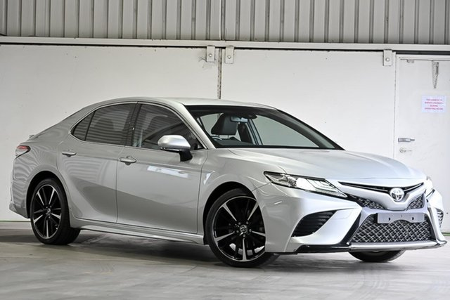 Used Toyota Camry GSV70R SX Laverton North, 2018 Toyota Camry GSV70R SX Silver 8 Speed Sports Automatic Sedan