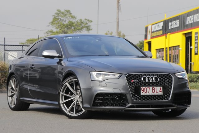Used Audi RS5 8T MY15 S Tronic Quattro Rocklea, 2015 Audi RS5 8T MY15 S Tronic Quattro Daytona Grey Pearl/leather 7 Speed