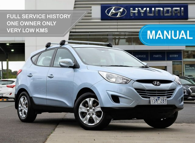 Used Hyundai ix35 LM MY11 Active South Melbourne, 2011 Hyundai ix35 LM MY11 Active 5 Speed Manual Wagon