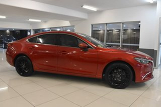 2015 Mazda 6 GJ1022 Atenza SKYACTIV-Drive Red 6 Speed Sports Automatic Sedan.