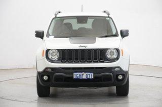 2015 Jeep Renegade BU MY15 Trailhawk AWD Alpine White 9 Speed Sports Automatic Hatchback.