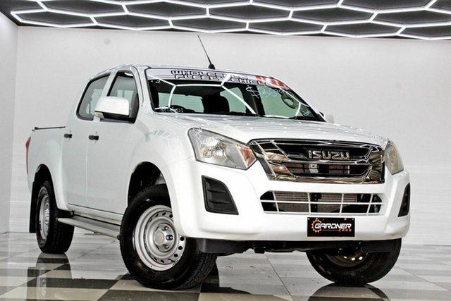 Used Isuzu D-MAX TF MY17 SX HI-Ride (4x2) Burleigh Heads, 2017 Isuzu D-MAX TF MY17 SX HI-Ride (4x2) White 6 Speed Automatic Crew Cab Utility