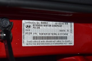 2020 Hyundai i30 PD2 MY20 Active Fiery Red 6 Speed Sports Automatic Hatchback