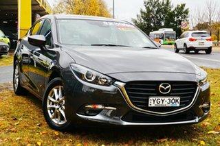 2017 Mazda 3 BN5478 Maxx SKYACTIV-Drive Grey 6 Speed Sports Automatic Hatchback.