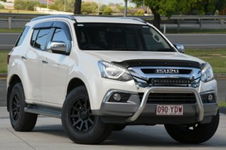 2018 Isuzu MU-X MY17 LS-T Rev-Tronic 4x2 White 6 Speed Sports Automatic Wagon