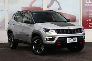 2018 Jeep Compass M6 MY18 Trailhawk White 9 Speed Automatic Wagon.