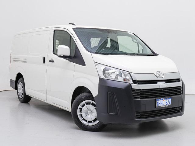 Used Toyota HiAce GDH300R LWB, 2020 Toyota HiAce GDH300R LWB White 6 Speed Automatic Van