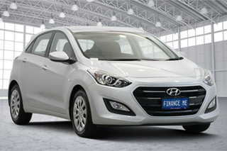 2016 Hyundai i30 GD4 Series II MY17 Active T8S : Platinum Silver, Metalli 6 Speed Sports Automatic.
