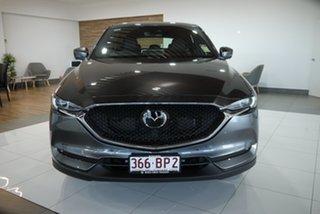 2021 Mazda CX-5 KF4WLA Akera SKYACTIV-Drive i-ACTIV AWD Grey 6 Speed Sports Automatic Wagon.