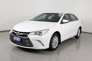 2015 Toyota Camry ASV50R Altise White 6 Speed Automatic Sedan.