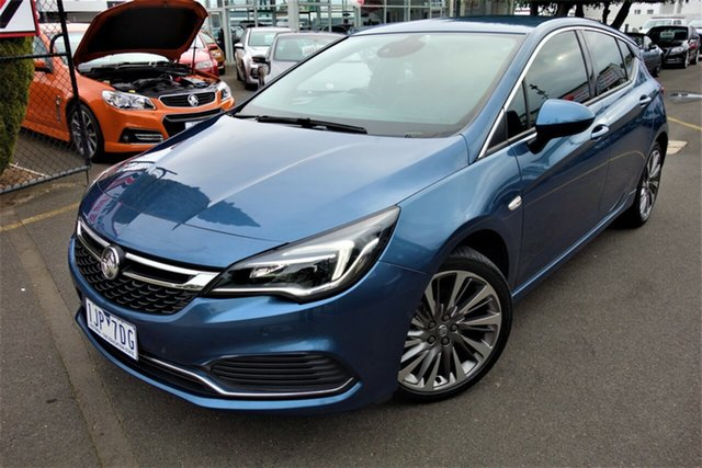 Used Holden Astra BK MY17 RS-V Seaford, 2017 Holden Astra BK MY17 RS-V Blue 6 Speed Manual Hatchback