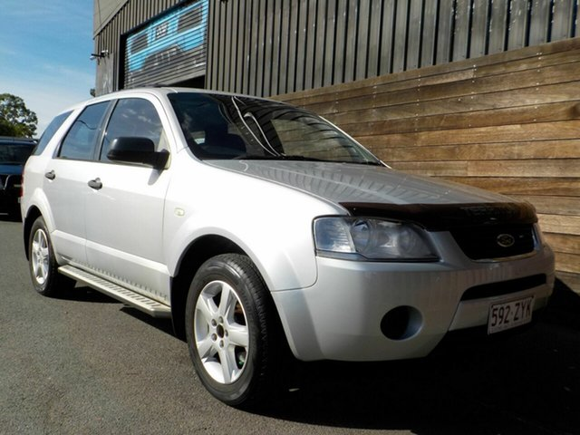 Used Ford Territory SY TS Labrador, 2007 Ford Territory SY TS Silver 4 Speed Sports Automatic Wagon
