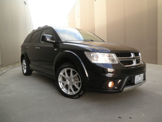 Used Dodge Journey JC MY15 R/T Cheltenham, 2015 Dodge Journey JC MY15 R/T Black Metallic 6 Speed Automatic Wagon