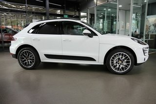 2014 Porsche Macan 95B MY15 S PDK AWD White 7 Speed Sports Automatic Dual Clutch Wagon