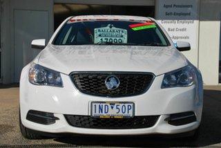 2016 Holden Commodore VF II Evoke White 6 Speed Automatic Sedan.