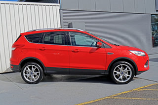 2016 Ford Kuga TF MY16.5 Titanium AWD Red 6 Speed Sports Automatic Wagon